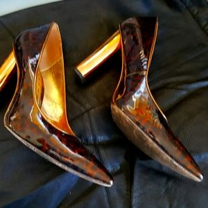 Mimco Turtle shell pattern Pumps size 8.5